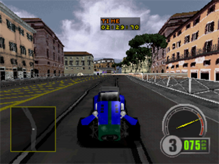 Test Drive 6 PlayStation Racer mode