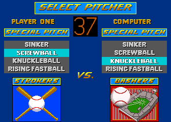 Relief Pitcher Arcade Select Pitcher.