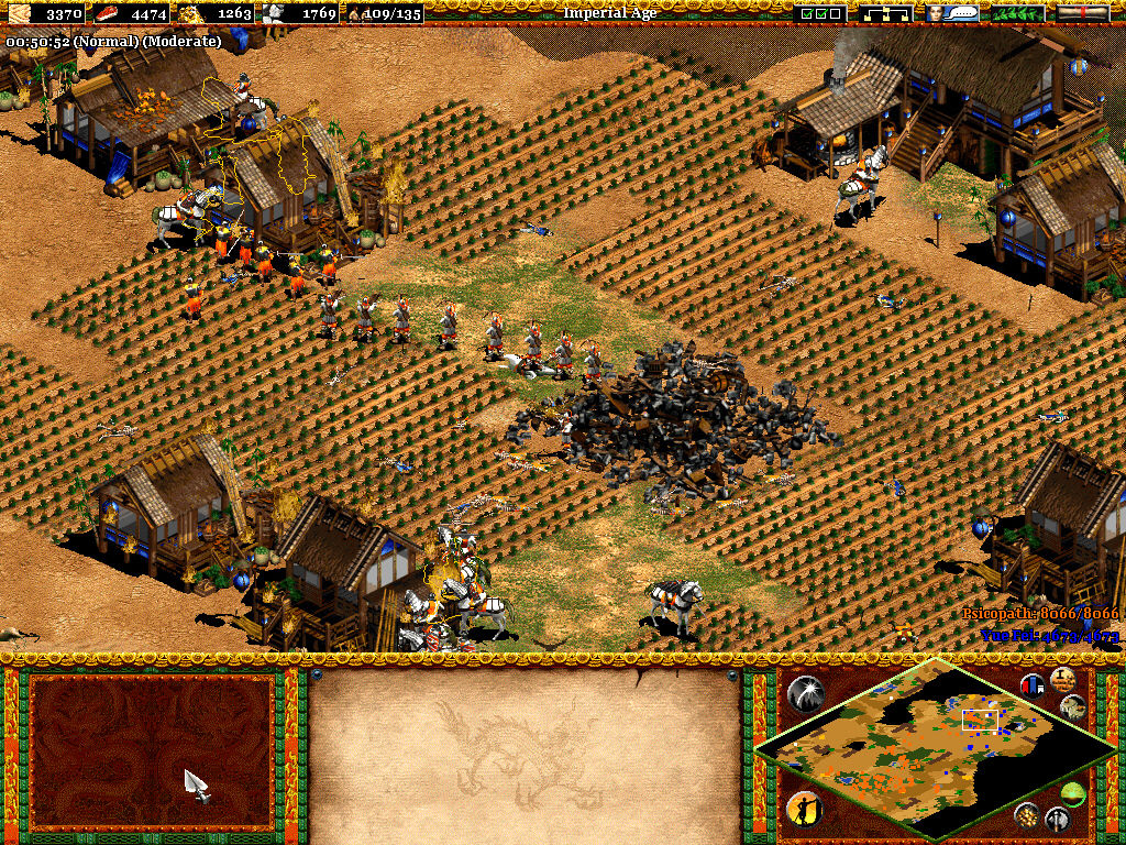 Age of Empires II: The Age of Kings Windows Resistance is futile.