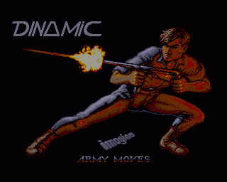 Army Moves Amiga Title Screen