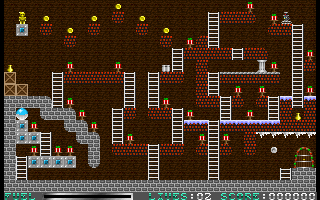 Jetpack: Christmas Special DOS The second level