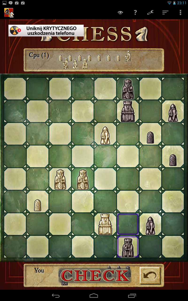 Chess Screenshots for Android - MobyGames