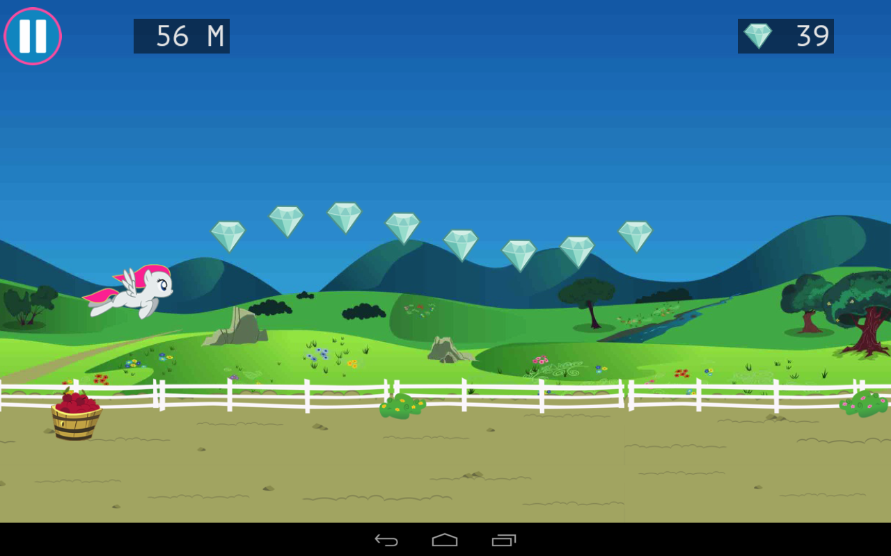 Little Pony Pegasus: Magic Journey Screenshots for Android