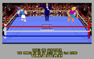 4-D Boxing DOS And the winner is...