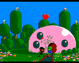 Zool Amiga Ending sequence, the more kitschy part.