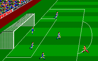 Kenny Dalglish Soccer Manager Amiga One on four