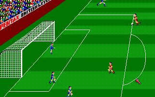 Kenny Dalglish Soccer Manager Amiga Counter attack