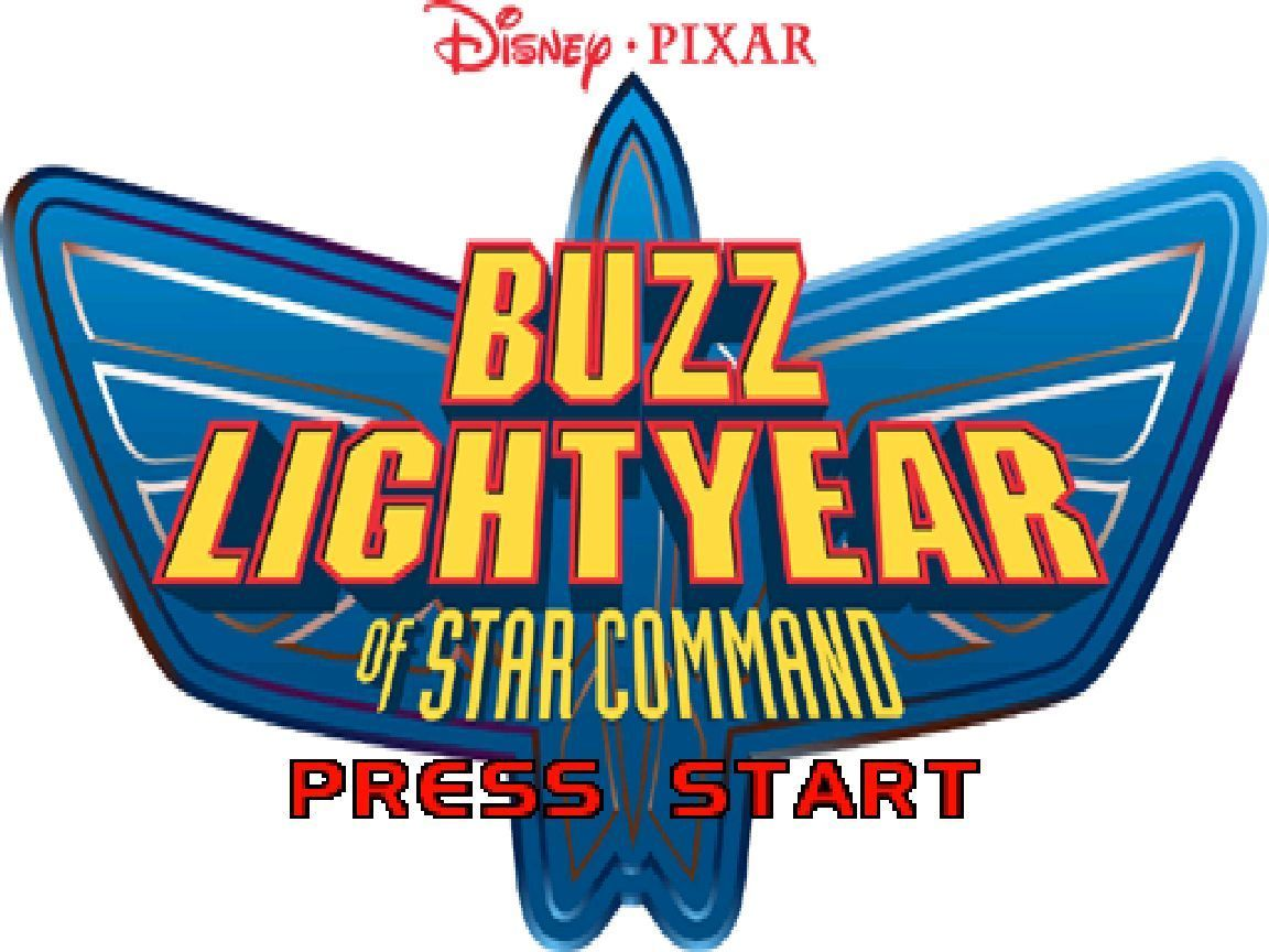 Disney•Pixar Buzz Lightyear of Star Command Windows The game's title screen follows the system check and the animated introduction sequence
