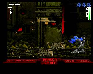 Walker Amiga Middle East (Infantry is jumping from cargo cars)
