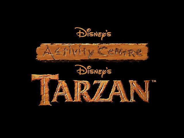 Disney's Activity Centre: Tarzan Windows The game's title screen