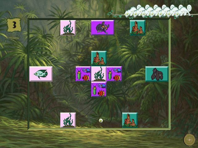Disney's Activity Centre: Tarzan Windows Terk & Tantor's Power Lunch is a mini game that's based on Breakout. Here the player has to clear the tiles that depict the preferred food of each animal