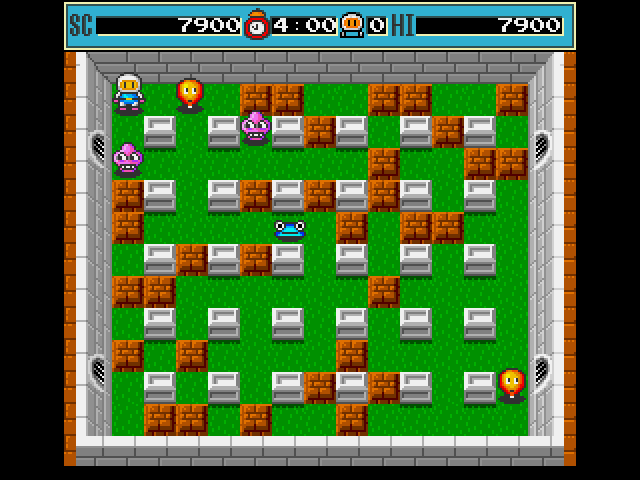Bomberman Amiga Cornered