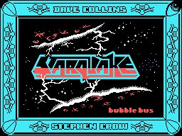 Starquake Tatung Einstein Title screen
