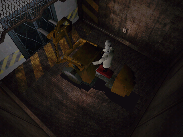 Grim Fandango Windows This puzzle involves you figuring out a way to navigate this forklift properly