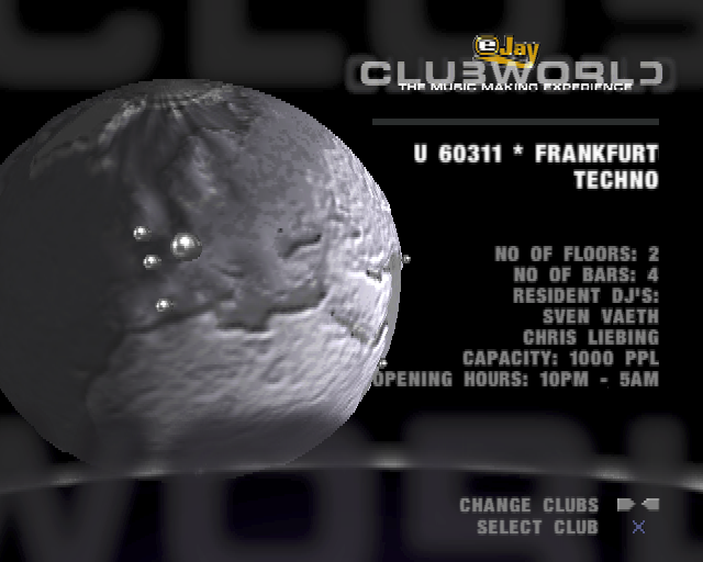 eJay ClubWorld Screenshots for PlayStation 2 - MobyGames