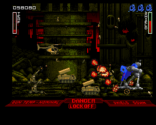 Walker Amiga Middle East (Rocket launchers are ready with guided missiles)