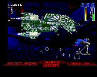 Walker Amiga The Great War 2420 (Encounter with space ship)
