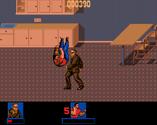 Last Action Hero Amiga Level 3 - House Brawls