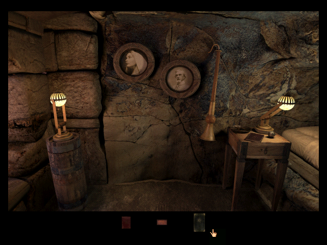 Riven: The Sequel to Myst Windows Near the end of the game. Who are the people on these portraits?..