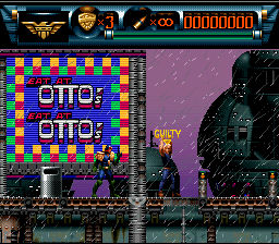 Judge Dredd SNES The perp pleads guilty