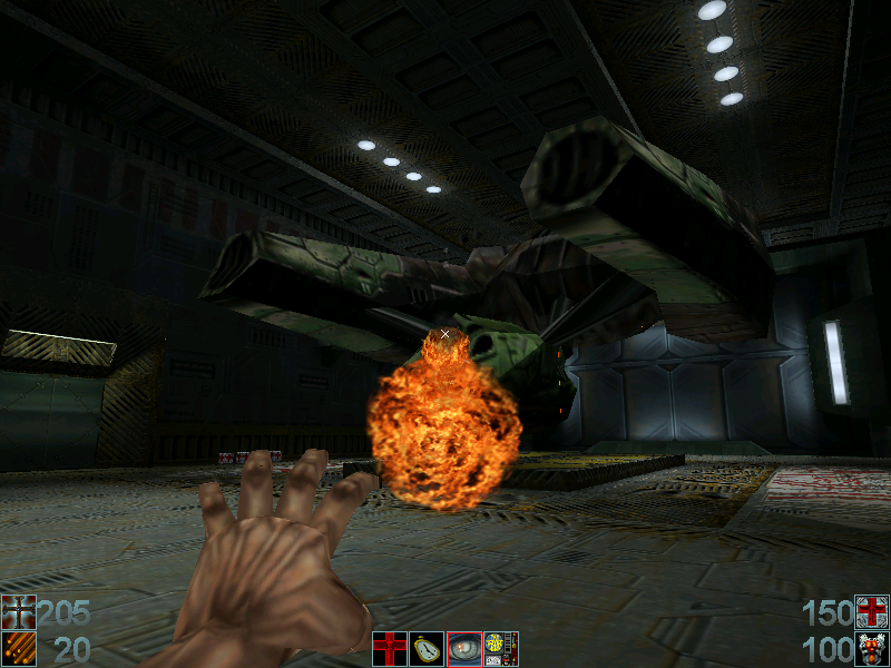 Requiem: Avenging Angel Windows One of the later levels in the game. You've found a strange-looking spaceship-lookalike. For some reason, you get angry and cast Brimstone on it
