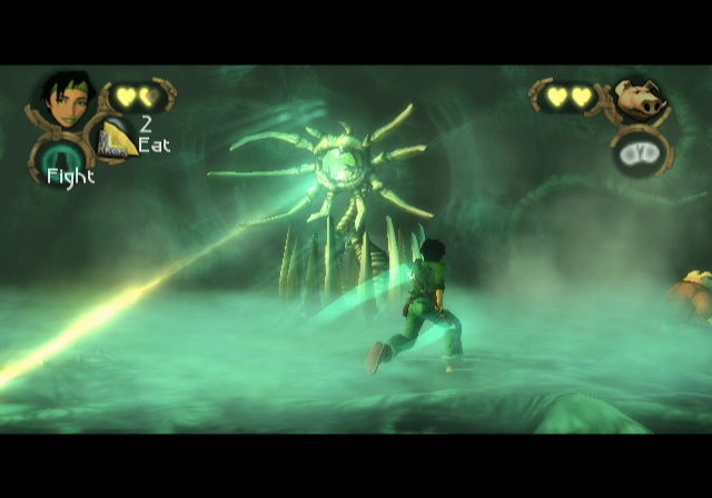 Beyond Good & Evil GameCube This boss fight happens very early in the game.