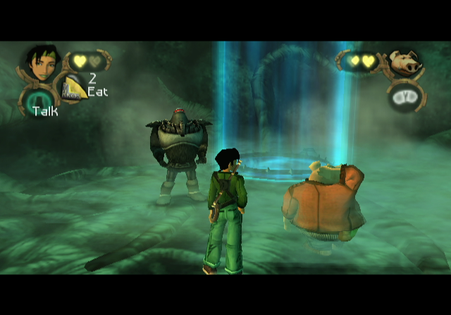 Beyond Good & Evil GameCube Funny how the Alpha Sections always show up a little too late...