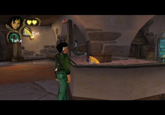 Beyond Good & Evil GameCube At home in the Lighthouse