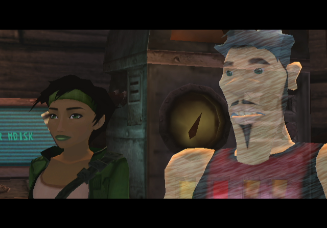 Beyond Good & Evil GameCube Your virtual assistant.