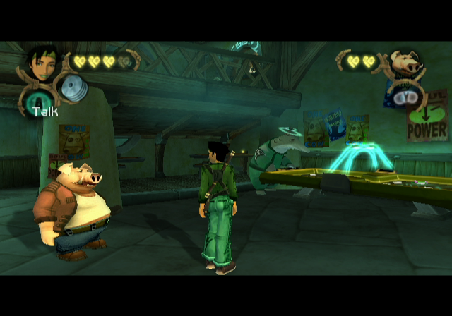Beyond Good & Evil GameCube Everybody knows your name at Akuda Bar
