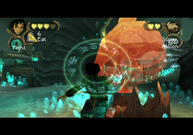 Beyond Good & Evil GameCube Super combo attack!