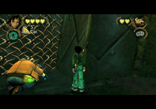 Beyond Good & Evil GameCube Teamwork is critical to moving through the game.