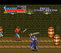 Knights of the Round SNES Sir Lancelot I presume