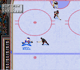 NHL 98 SNES Pass the puck