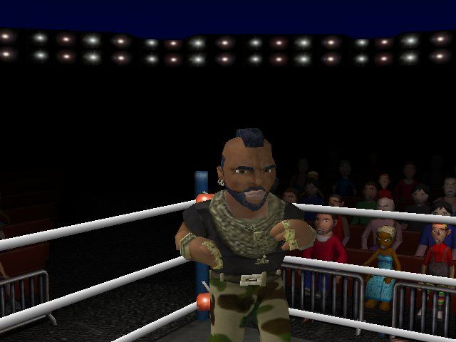 MTV Celebrity Deathmatch Windows Mr. T