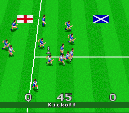 Virtual Soccer SNES Here comes the teams