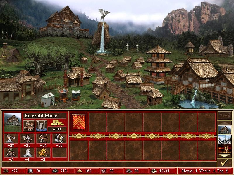 Heroes of Might and Magic III: The Restoration of Erathia Windows ... which look quite nice ...