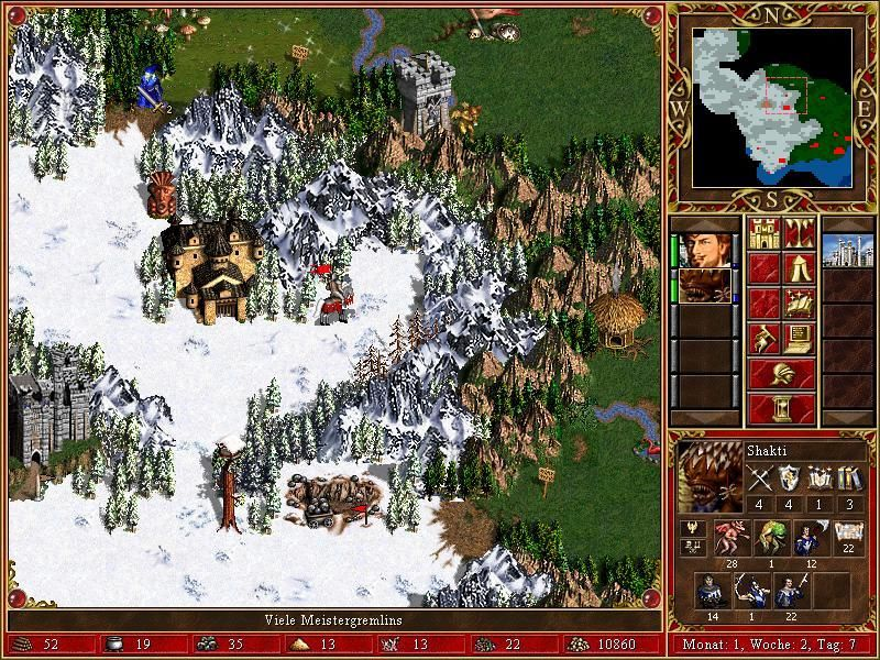 Heroes of Might and Magic III: The Restoration of Erathia Windows The maps look pretty nice though