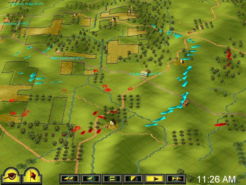 Sid Meier's Gettysburg! Windows Replay