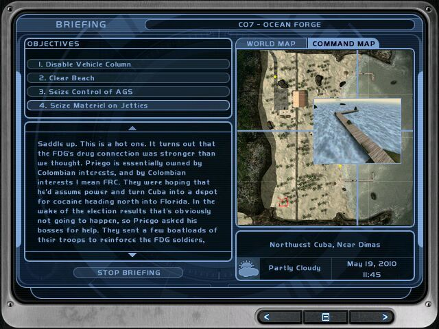 SC Needs To Bring Proper Mission Briefings Back Archive