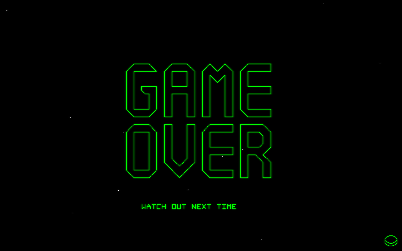 Trace Vector Windows Game Over Screen
