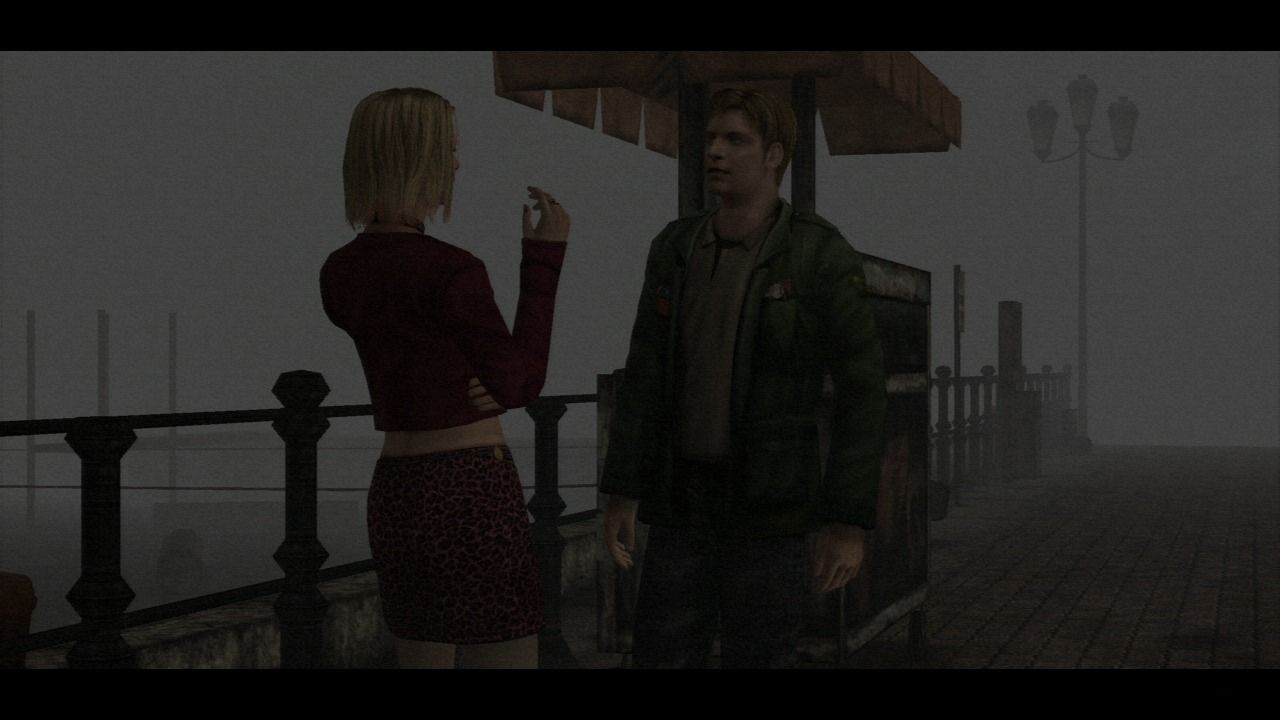 Silent Hill: HD Collection PlayStation 3 Silent Hill 2 - Meeting Maria, your dead wife look-alike.