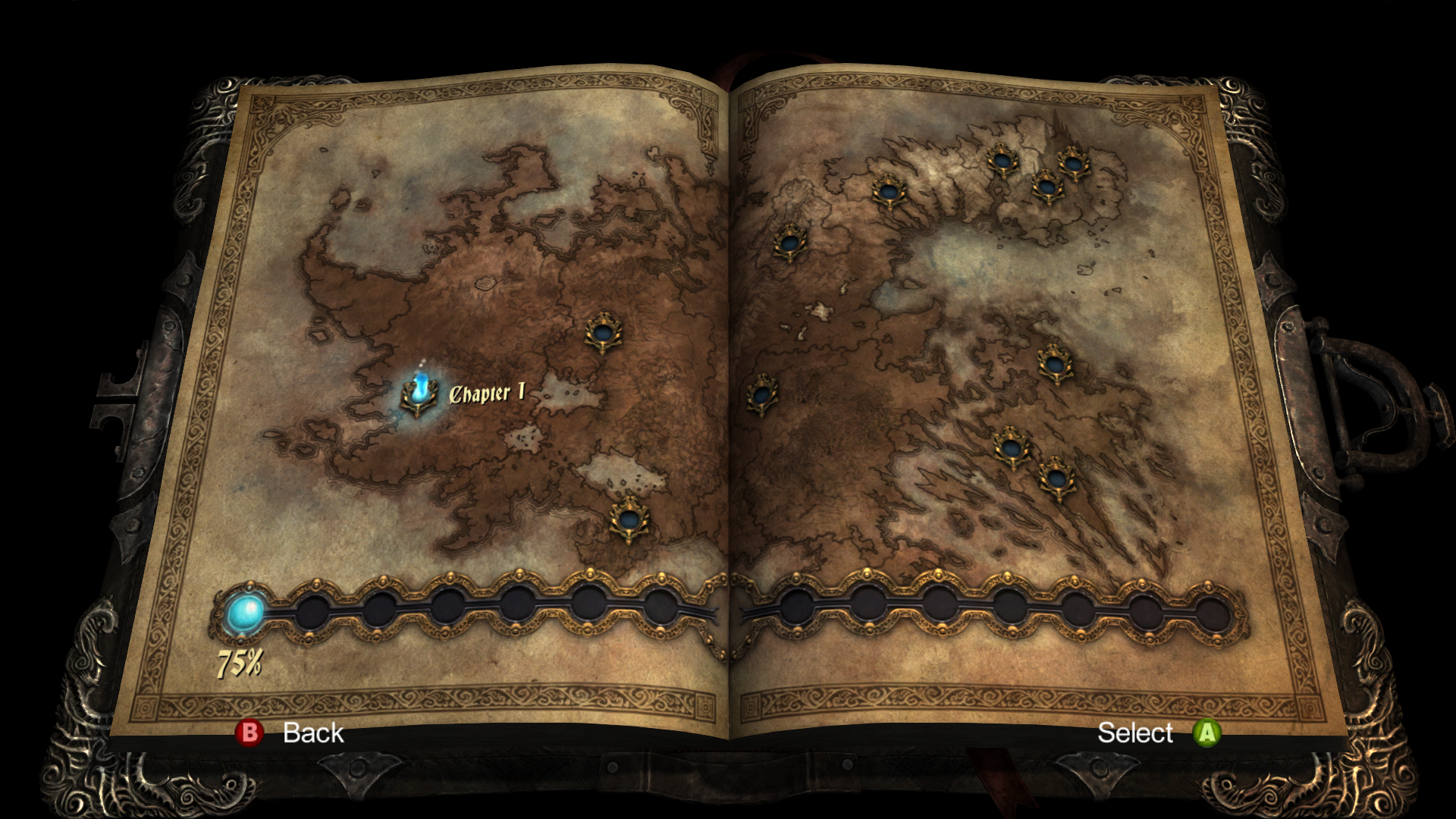 Castlevania World Map.Castlevania Lords Of Shadow Ultimate Edition Screenshots For
