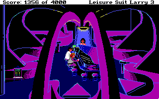 "Leisure Suit Larry III: Passionate Patti in Pursuit of the Pulsating Pectorals DOS Sitting on a stool in a piano bar next to <moby gamegroup=""space quest"">Roger Wilco</moby>!"