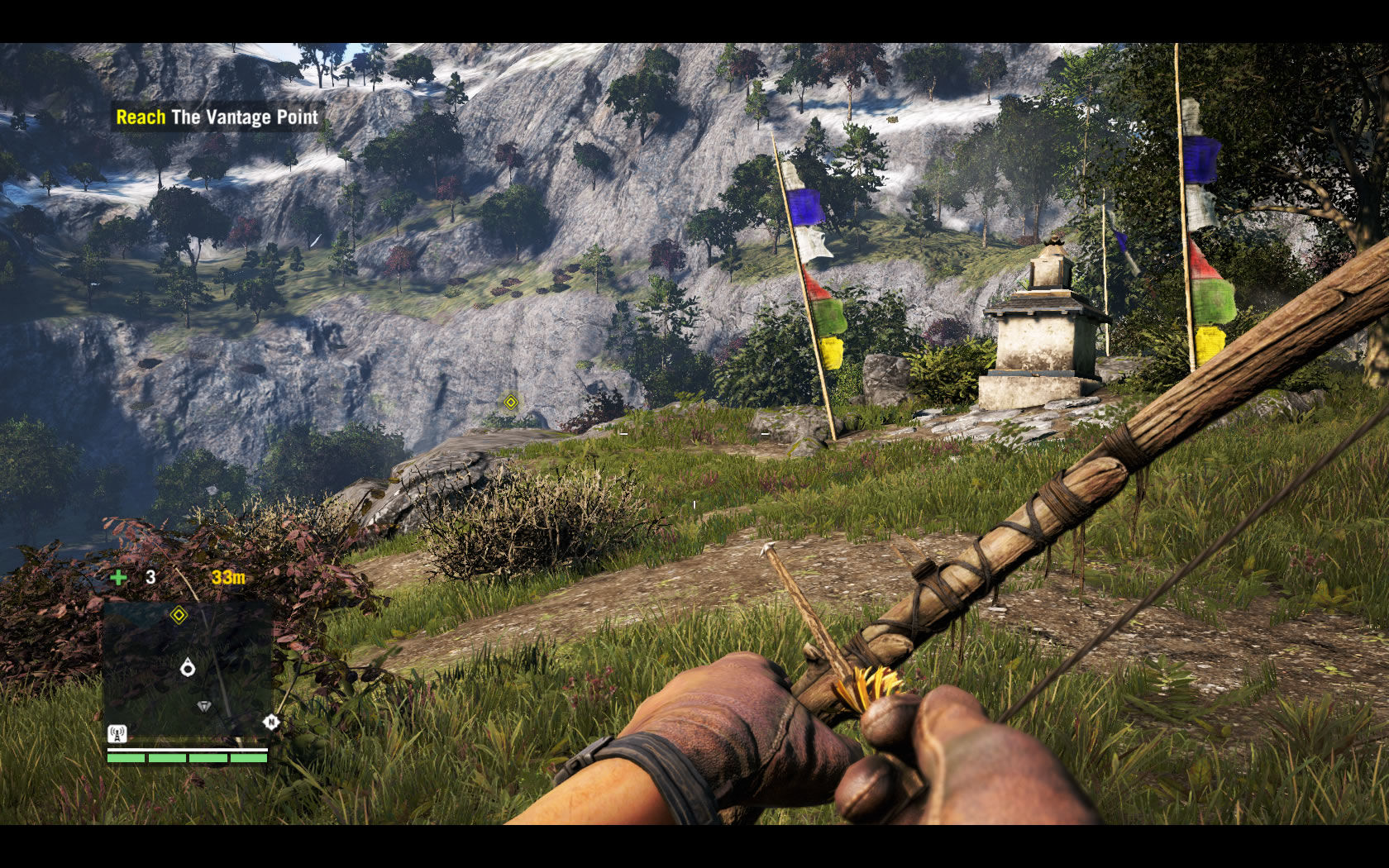 how to throw bait in far cry 4 xbox