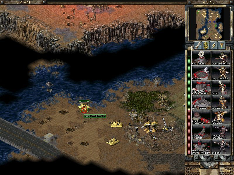 Command & Conquer: Tiberian Sun Windows Dreadful Mammoth tanks still working after 30 years. Not as powerful as once were, though.