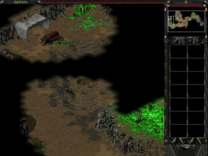 Command & Conquer: Tiberian Sun - Firestorm Windows Nod Montauk seems to be off power, and you must race GDI forces to make sure it stays on the safe side.