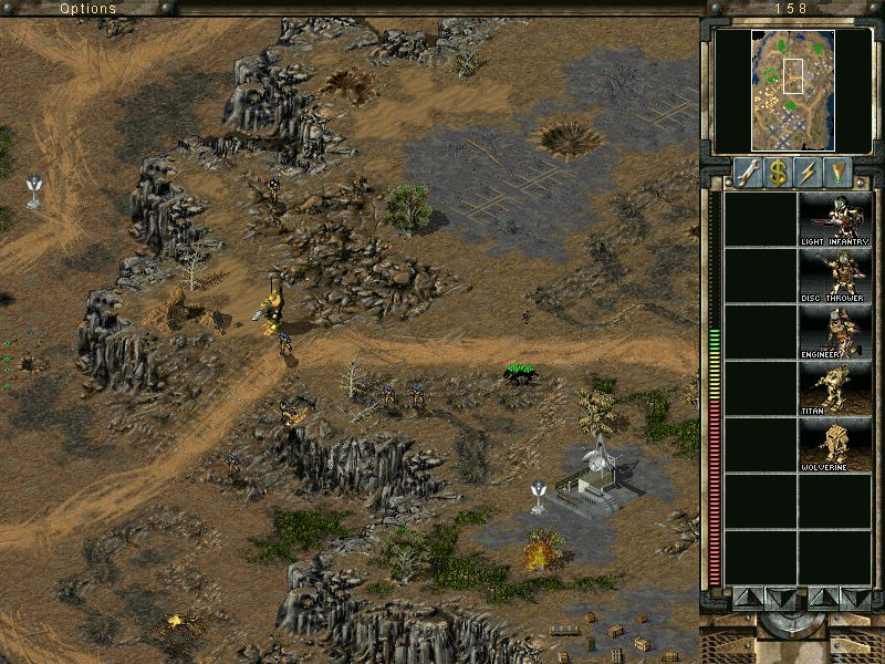 Command & Conquer: Tiberian Sun - Firestorm Windows Regular infantry is no match against tiberium fiends, so it's wiser to flee sometimes.