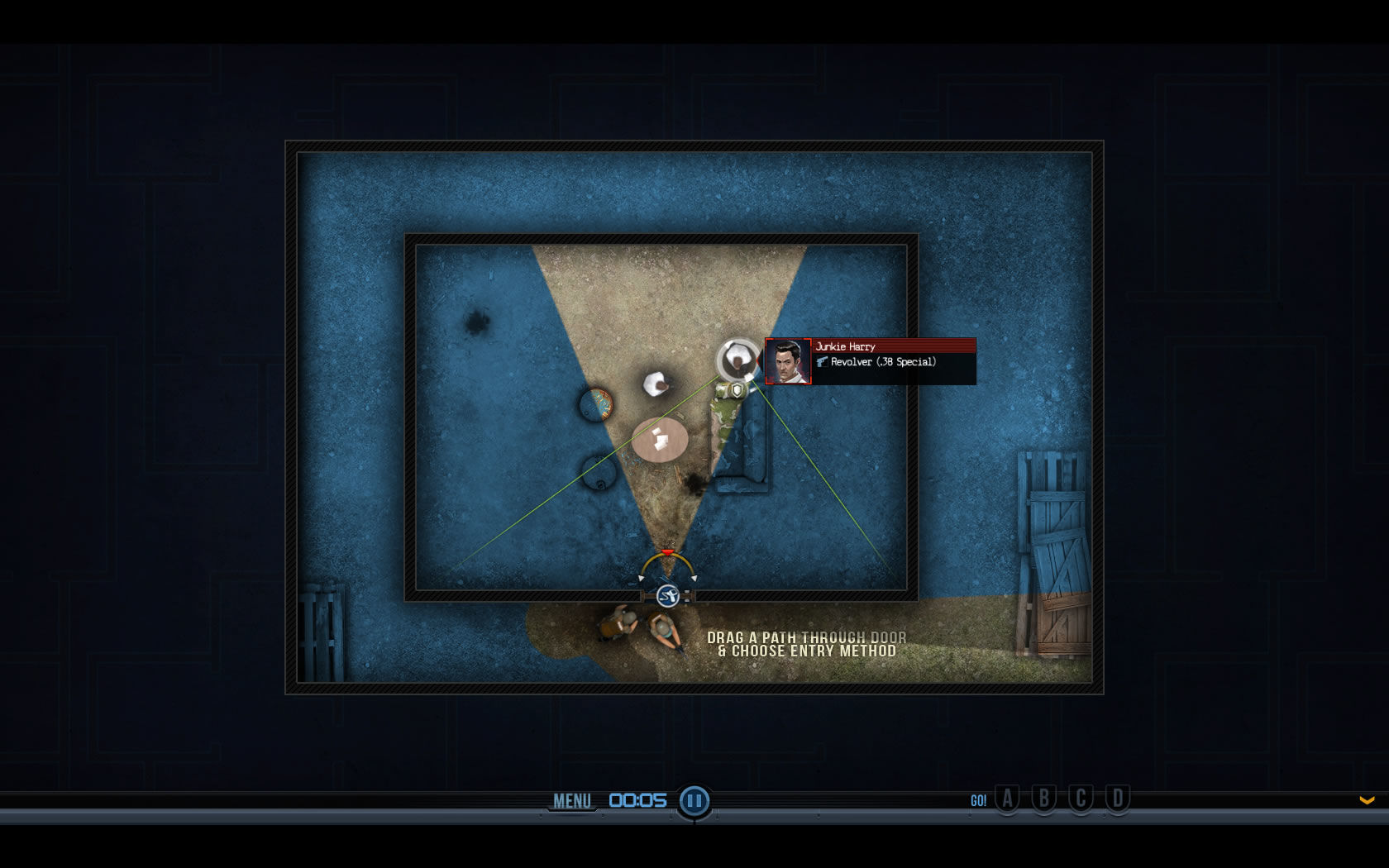 Door Kickers Windows Using the spy camera you get a look at the situation inside before & Door Kickers Screenshots for Windows - MobyGames