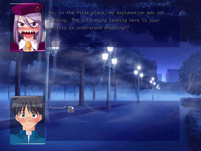 Melty Blood Windows Sharp teeth